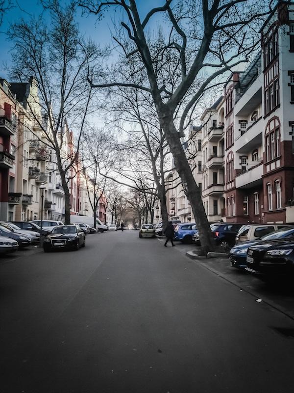 A street in Friedenau