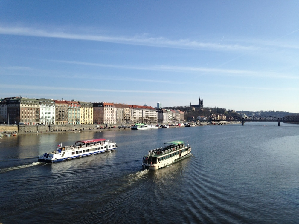 Prague Vltava River View