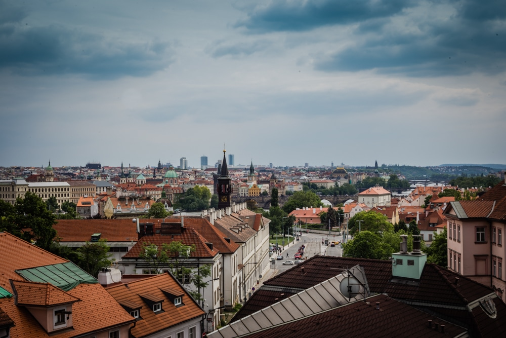 best views of prague chotkovy sady