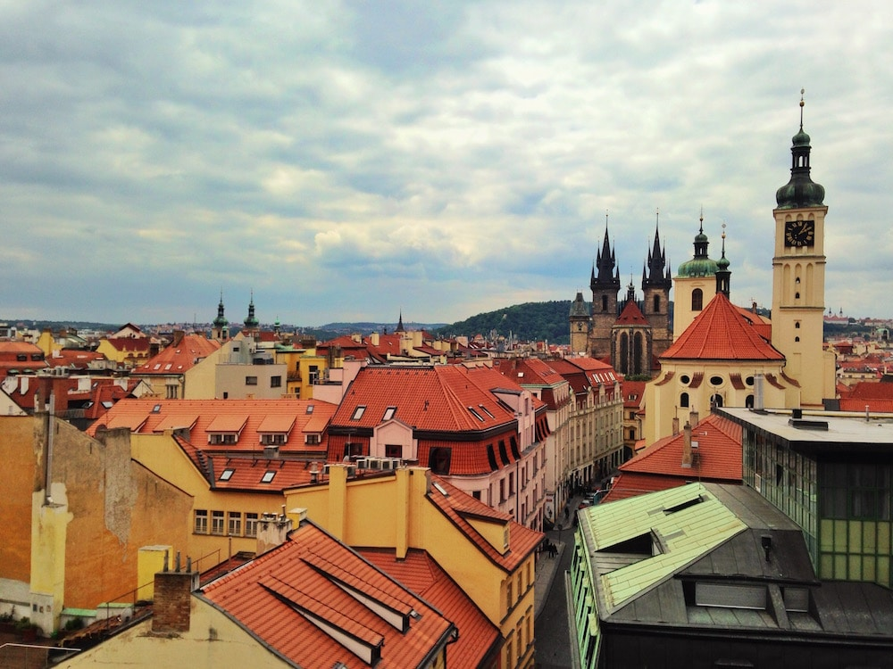 Best views of prague old town
