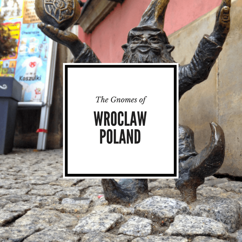 Gnomes in Wroclaw Poland