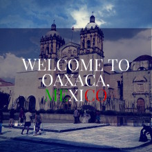 title image for blog about moving to oaxaca