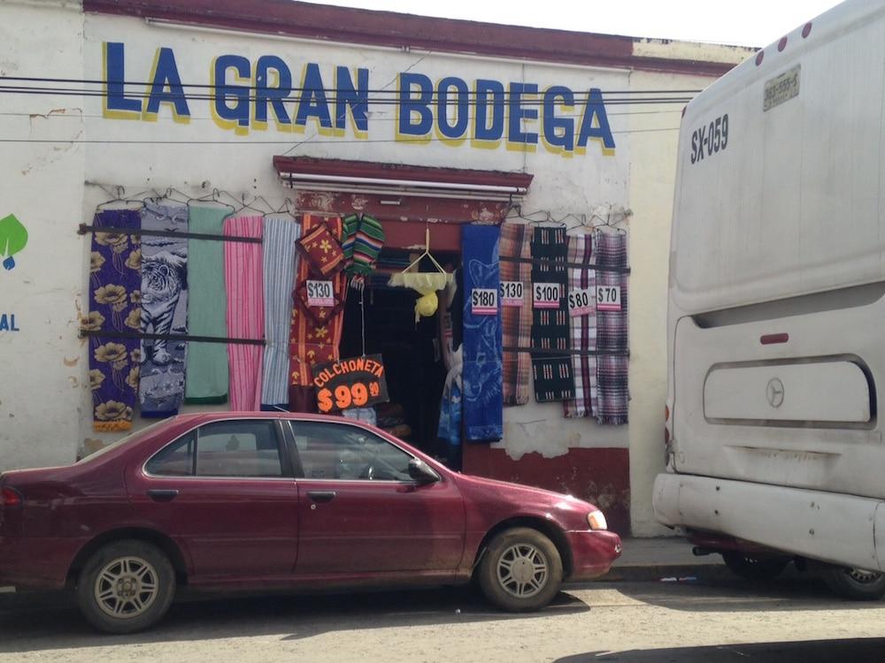 A shop to buy a mosquito net Oaxaca Mexico