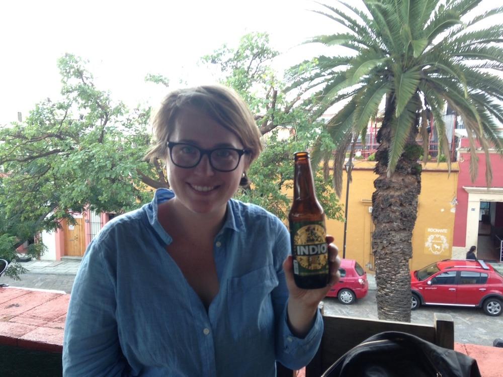 Indio beer oaxaca