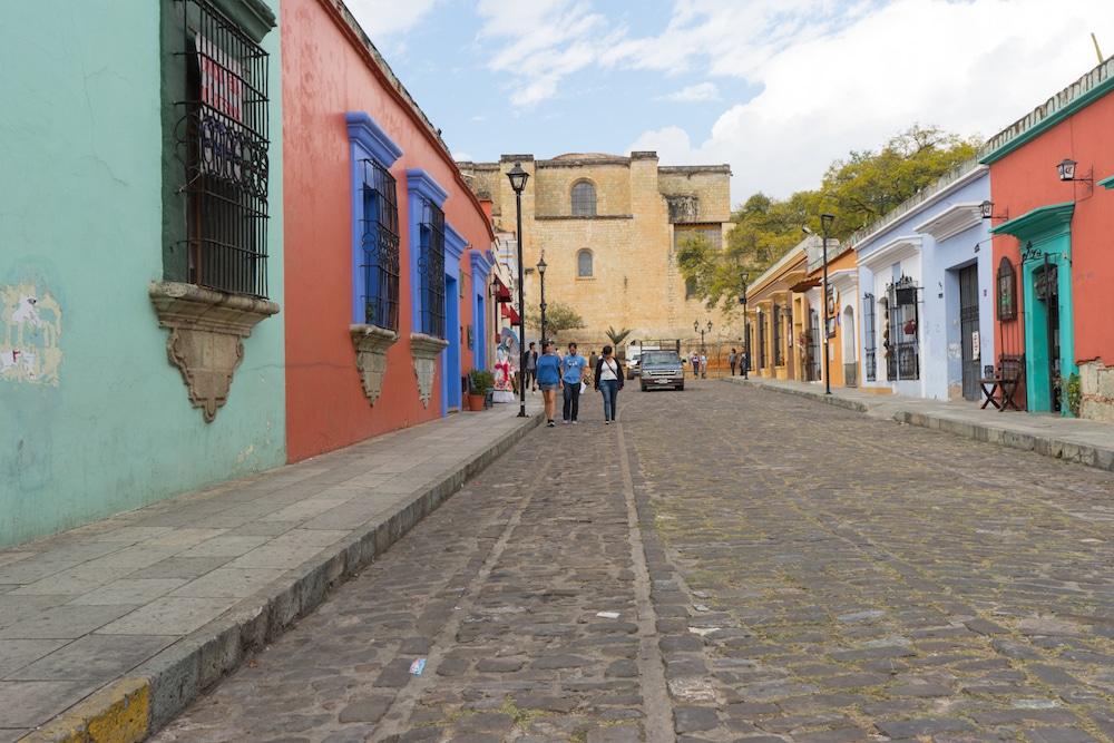 Cinco de Mayo Street Oaxaca Mexico