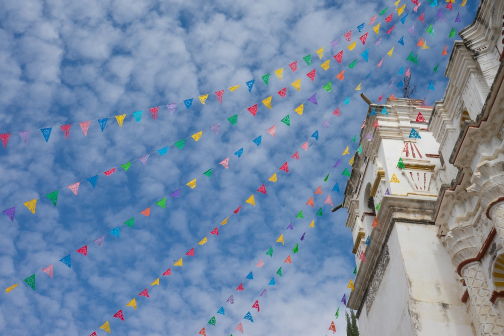 colorful flags_oaxaca_san_martin_tilcajete