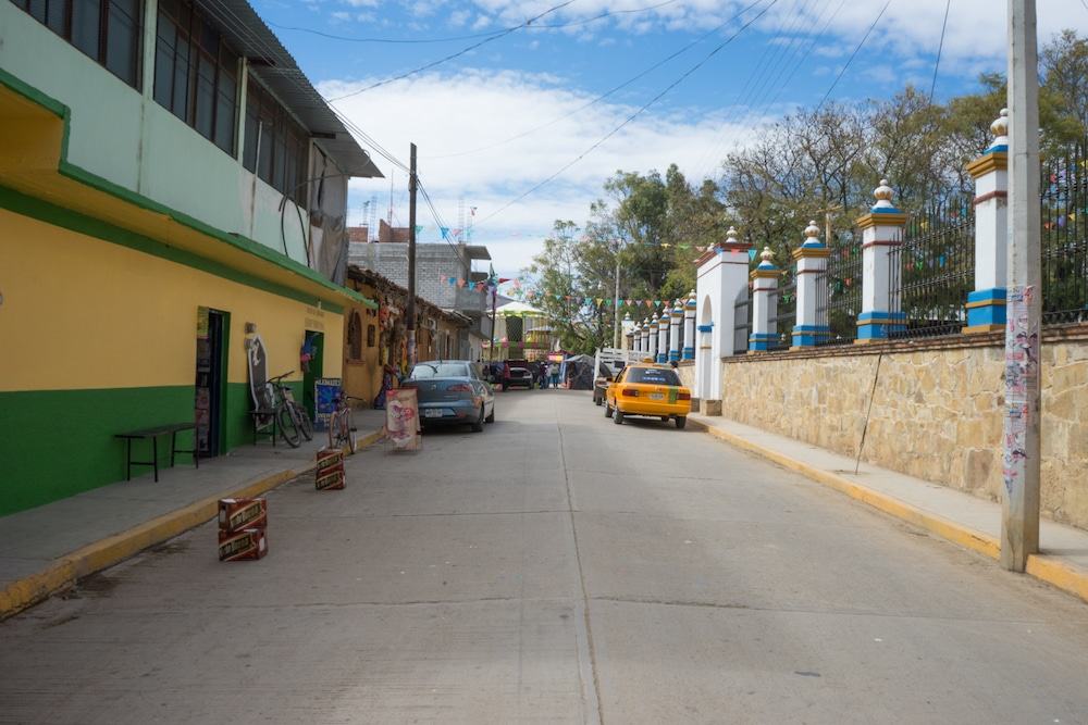 San Martin Tilcajete Village Oaxaca Mexico