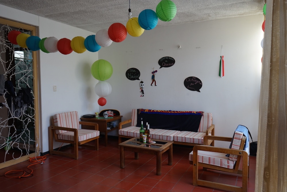 Our fiesta-inspired living room