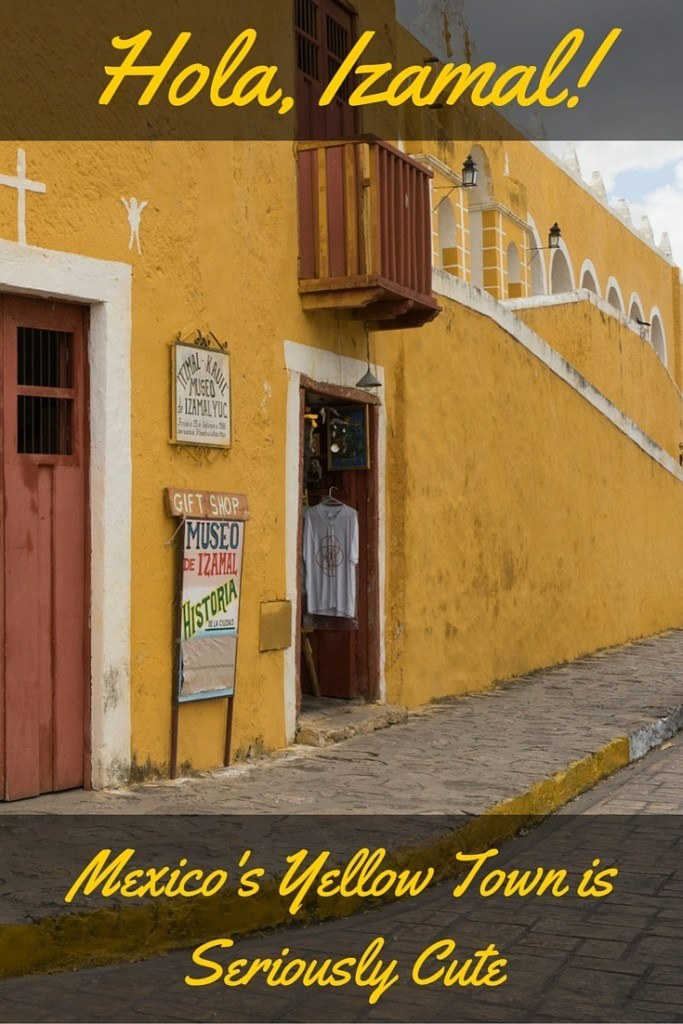 Mexico Yellow Town