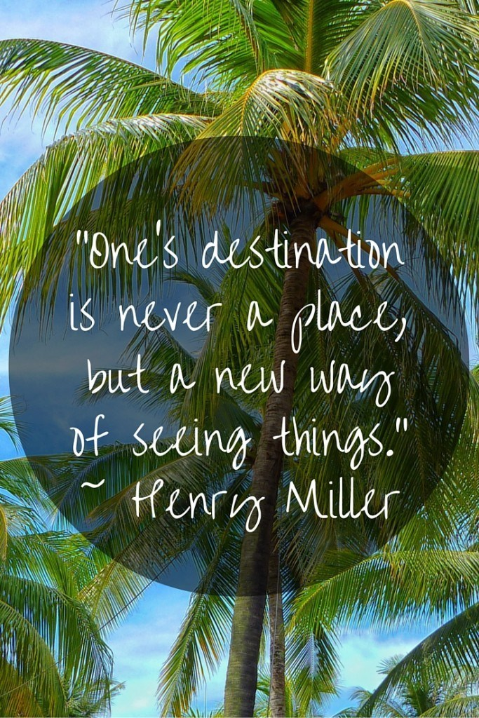 Travel quote about change