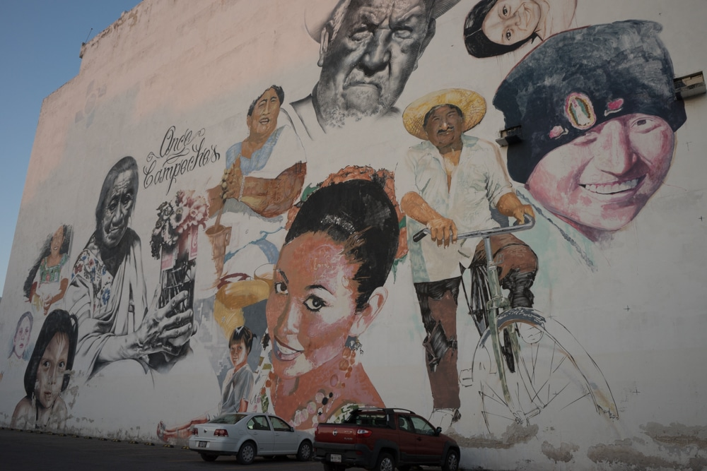 street art Campeche Campeche Mexico