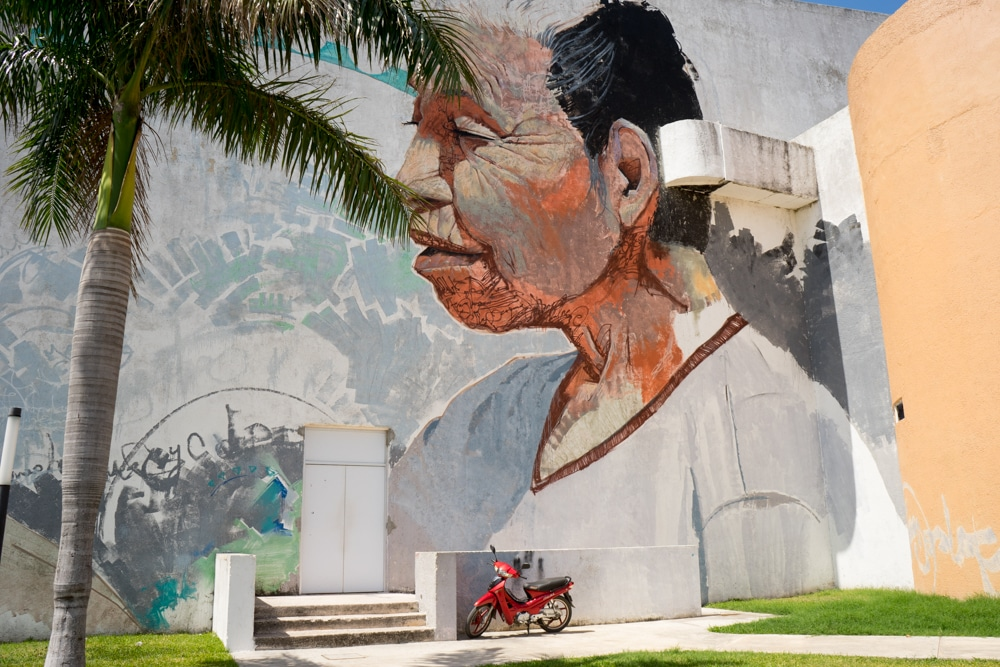 Spotting street art is a top thing to do in Campeche