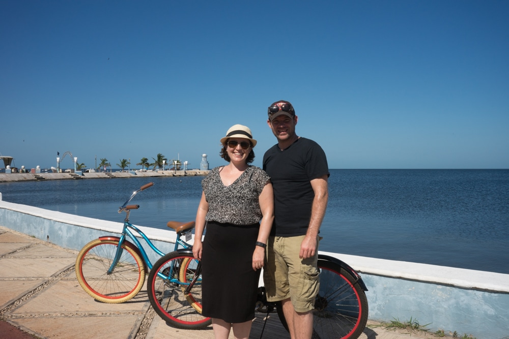 Renting Bikes is a Great Thing to Do in Campeche Mexico