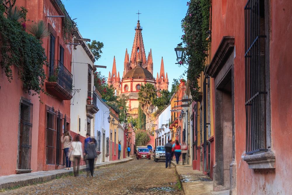Mexico Coloring Book San Miguel de Allende