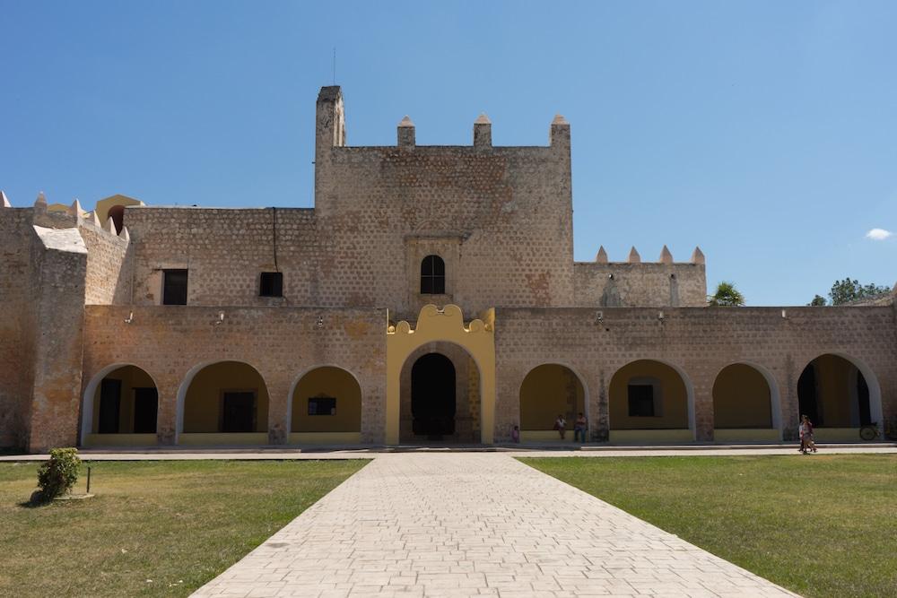 Convent of San Bernardino de Siena Valladolid Mexico