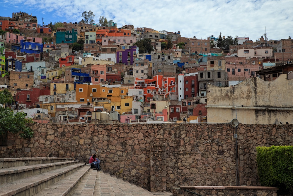 Travel Between the Lines Coloring Mexico Guanajuato Photo