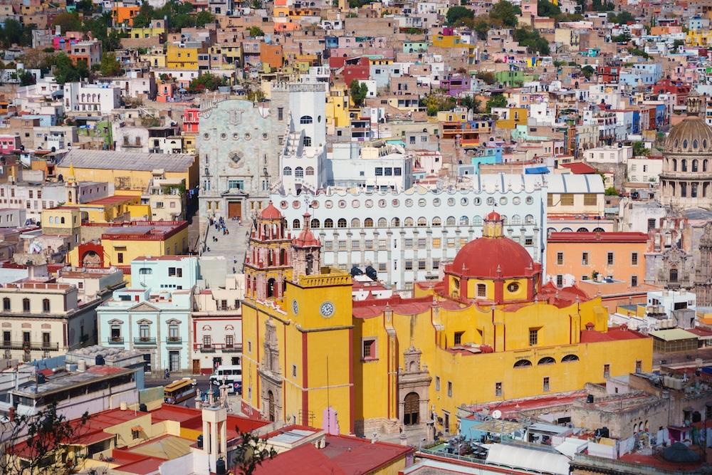 Mexico Coloring Book Guanajuato