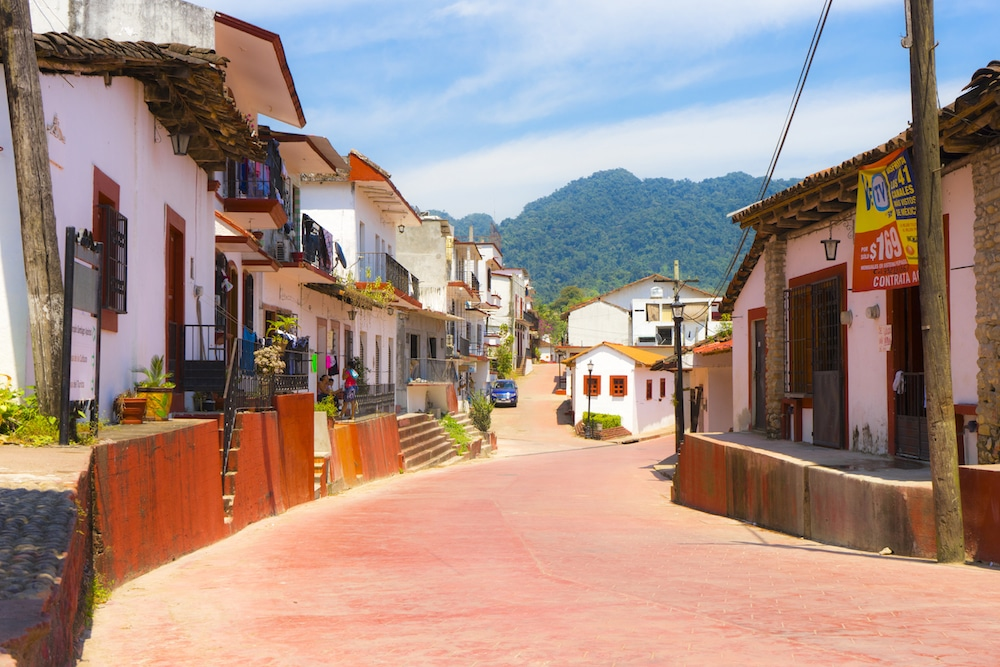 street in tapijulapa tobasco