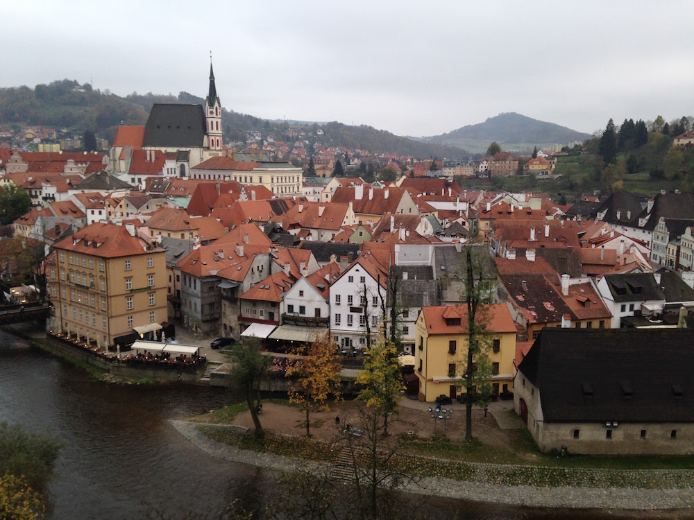 A top Day Trips from Prague is to Cesky Krumlov