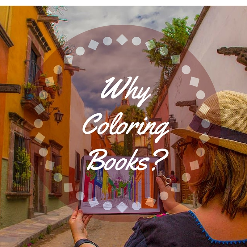 why adult coloring books