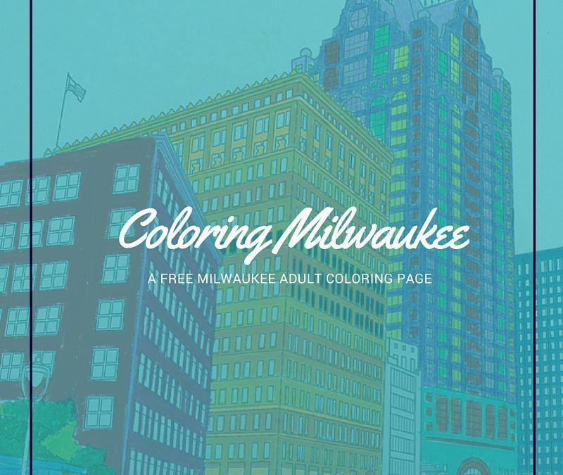 Free Milwaukee Adult Coloring Page