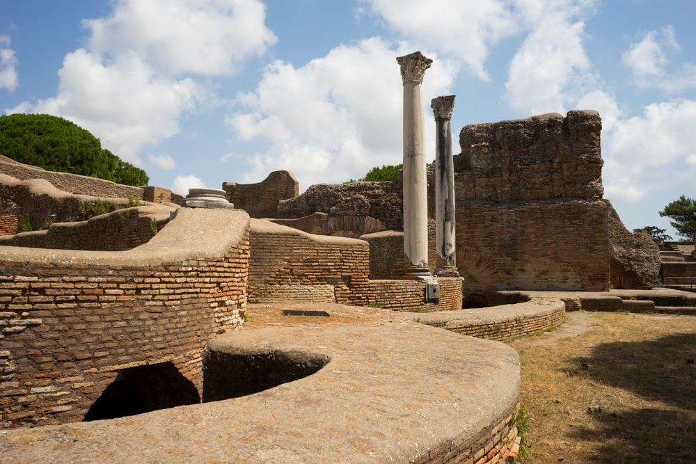 Roman Baths at Ostia Antica