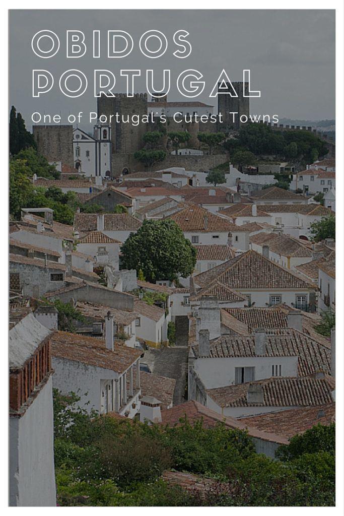 Obidos Portugal Pinterest