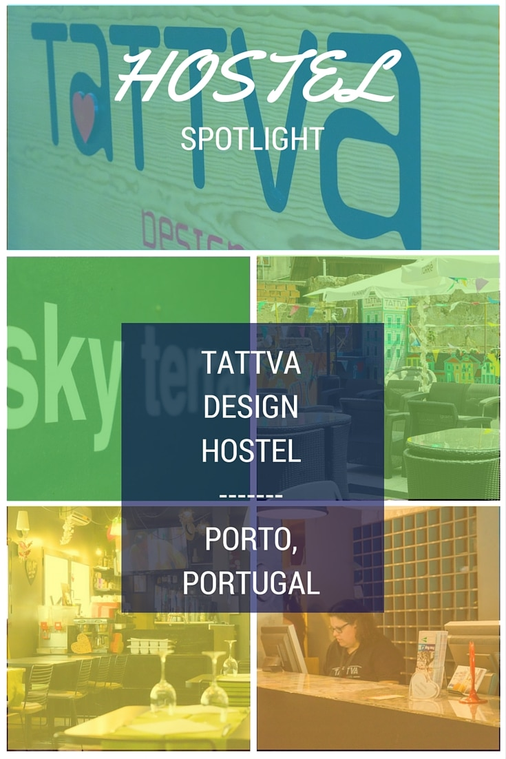 A pinnable image about Tattva Design Hostel Porto