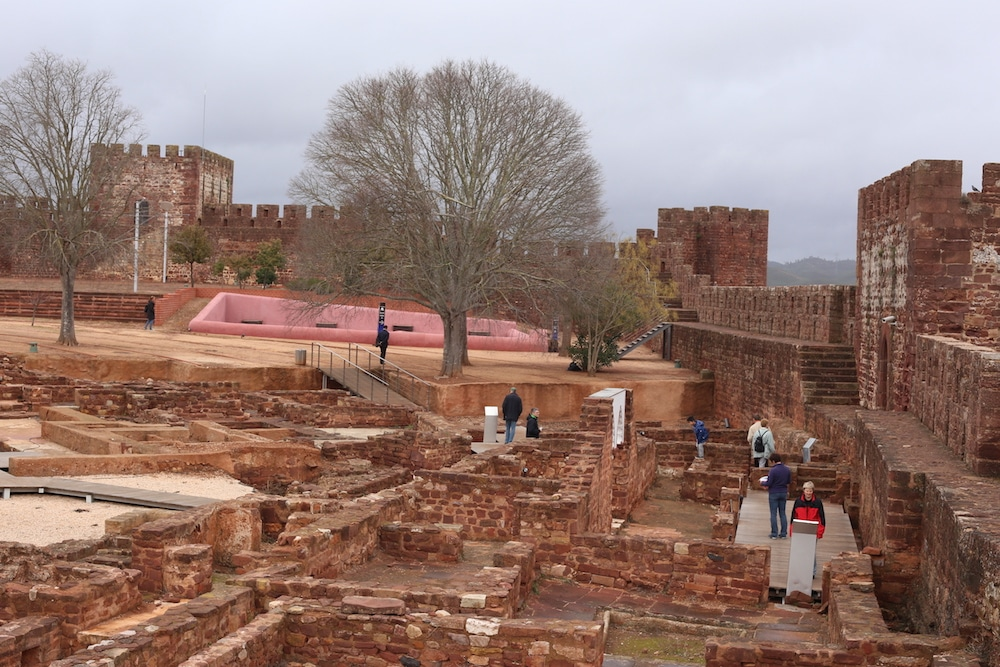 The Castle in Silves Portugal