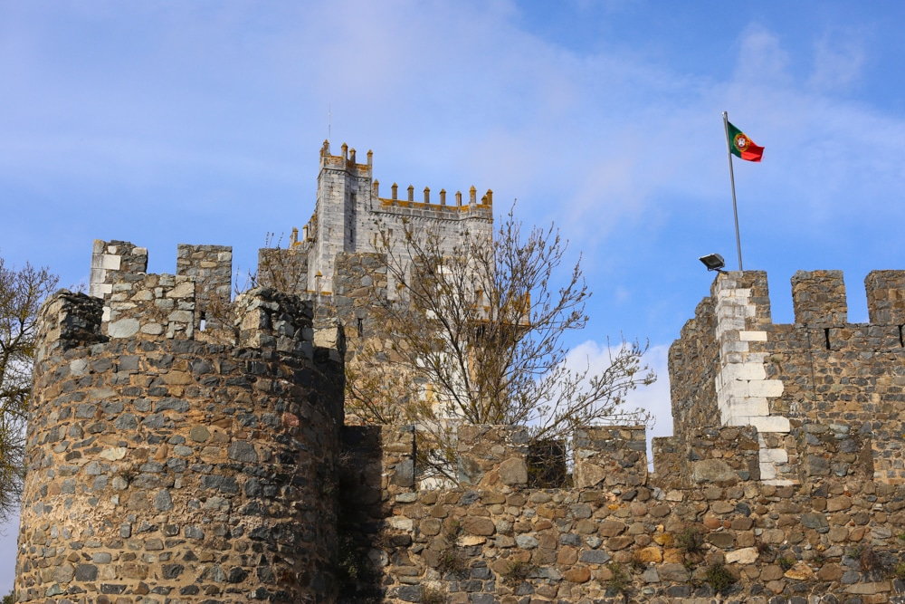 Beja Castle Alentejo Portugal