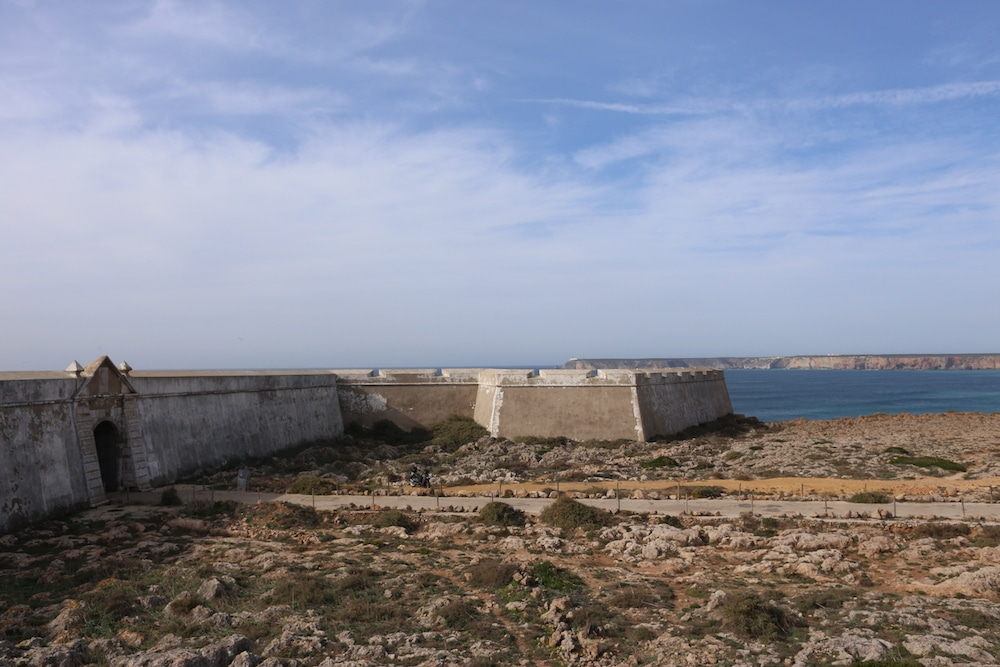 Fort at Sagres portugal