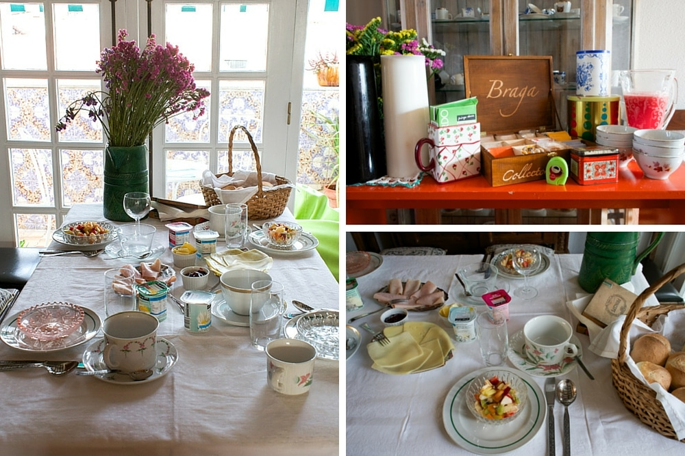 Breakfast at Collectors Hostel Braga