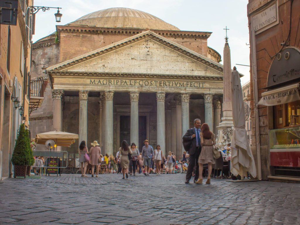 The Pantheon Rome Exterior