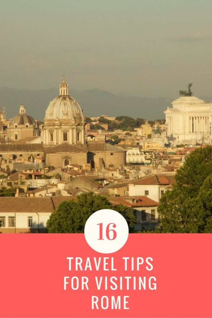 Rome Travel Tips Pinterest
