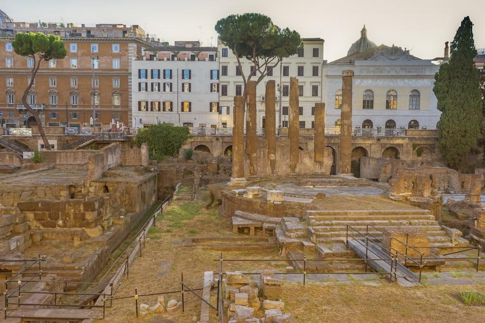 Largo di Torre Argentina Ruins Rome