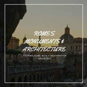 Rome Architecture Tour