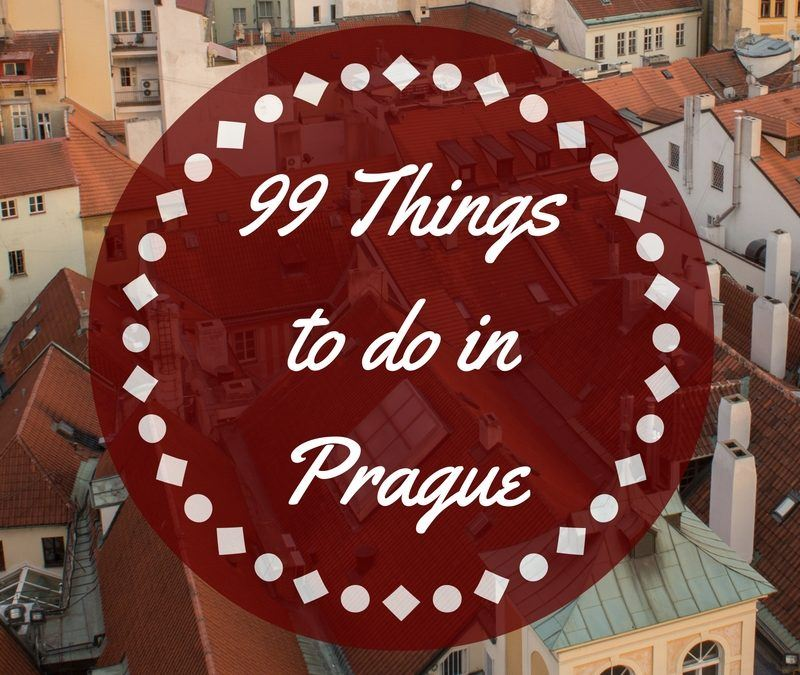 99 Things to Do in Prague: A Guide to The Best Things to Do in Prague