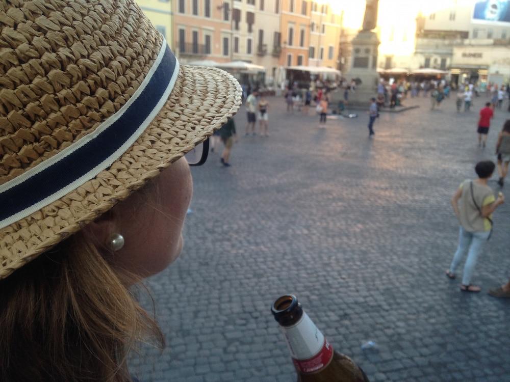 Outdoor Beer Campo Fiore