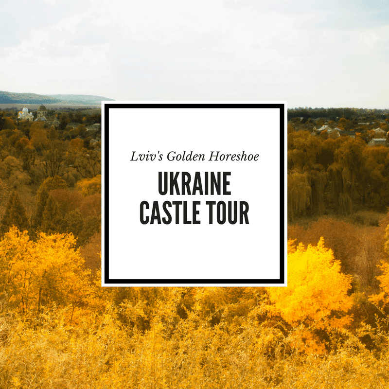 Lviv Golden Horseshoe Castle Tour