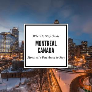 Montreal Neighborhood Guide