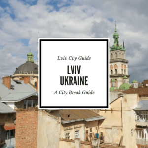 Lviv Ukraine City Guide