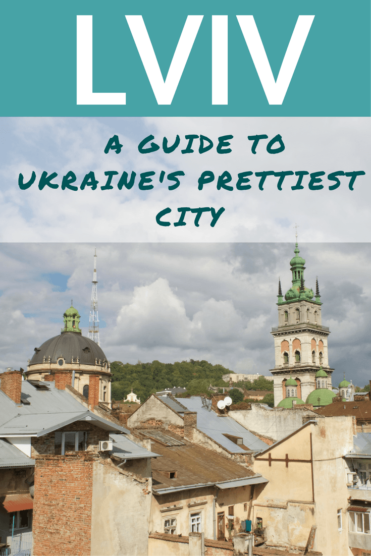 Lviv Ukraine City Guide Pin