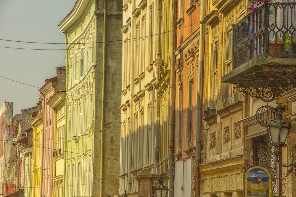architecture in Lviv