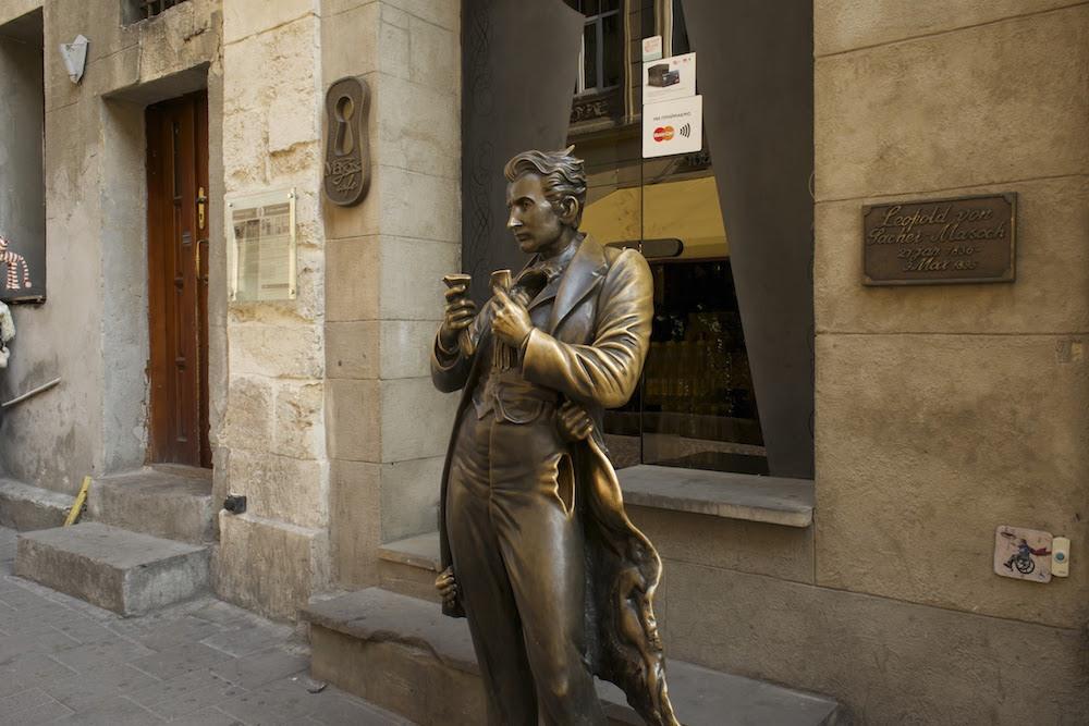 Leopold Masoch Statue Lviv