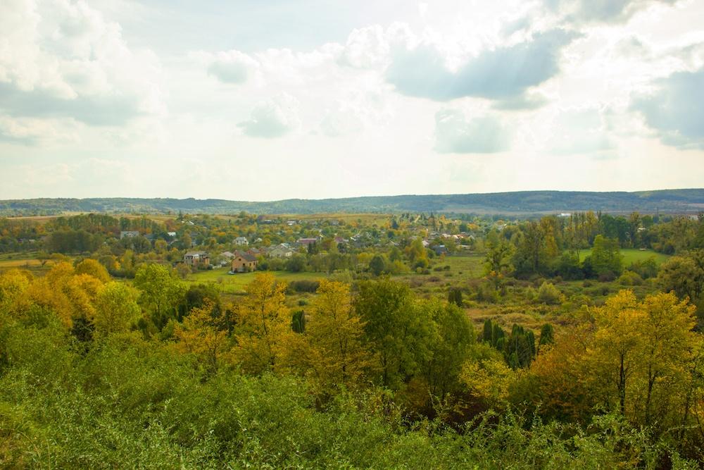 Olesko Castle Ukraine View