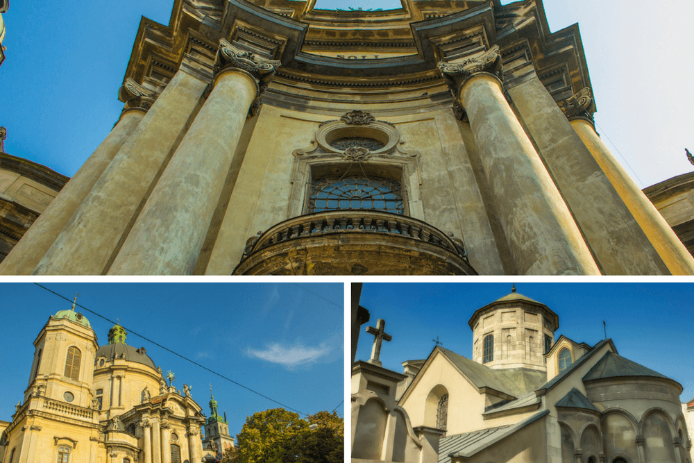 Churches in Lviv