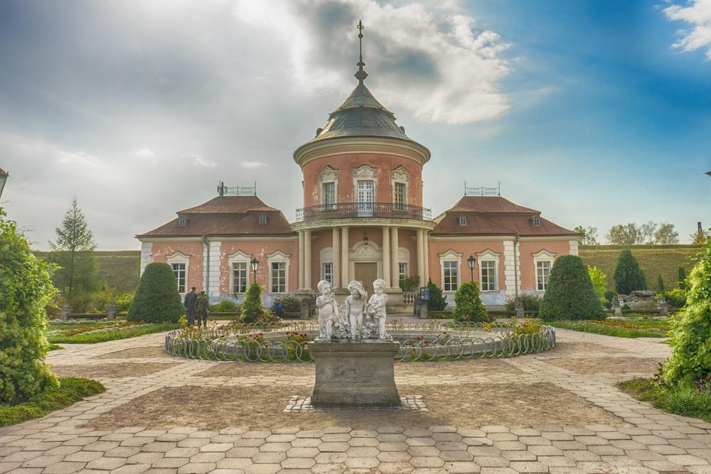 Zolochiv Castle Lviv Ukraine Chinese Pagoda