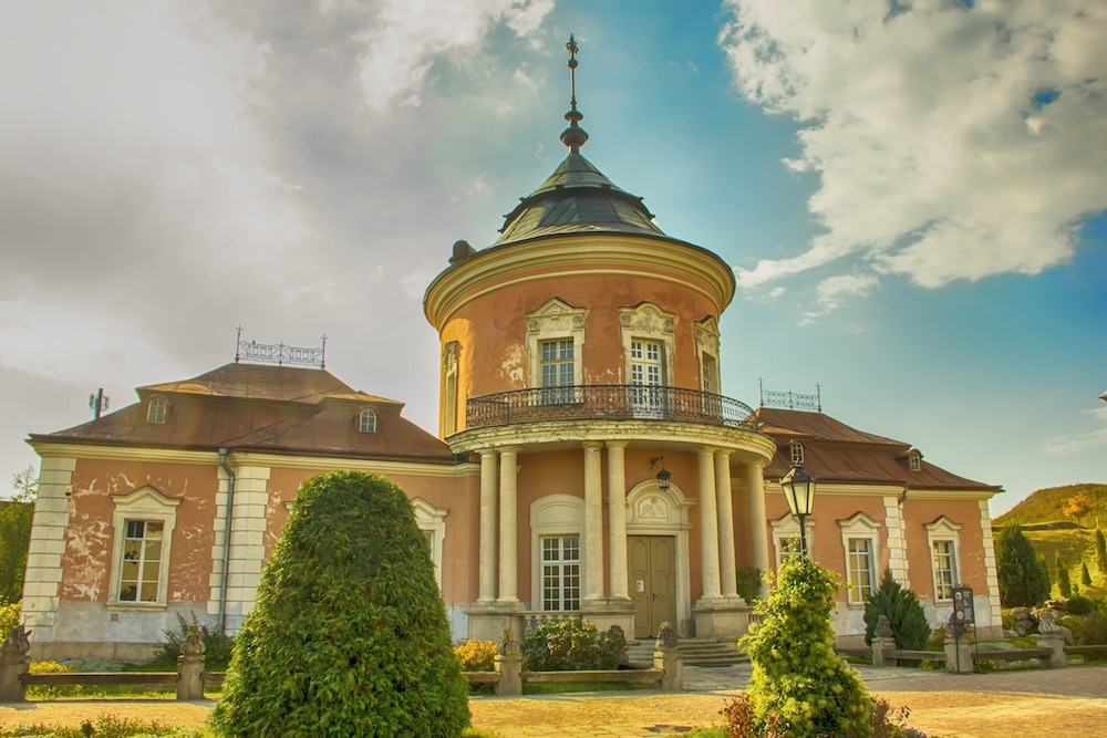 Zolochiv Castle Lviv Chinese Pavillion