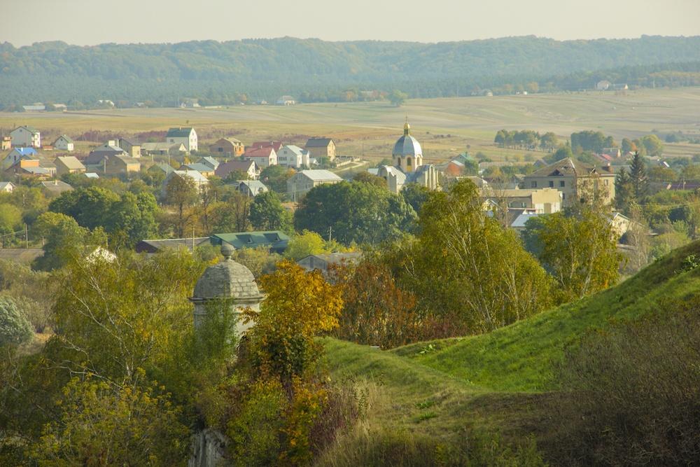 Zolochiv Castle Lviv View in Autumn