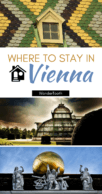 The best areas to stay in Vienna - Pinterest Pin
